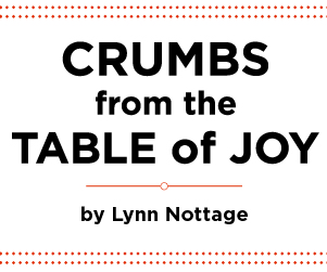 Crumbs from the table of joy title