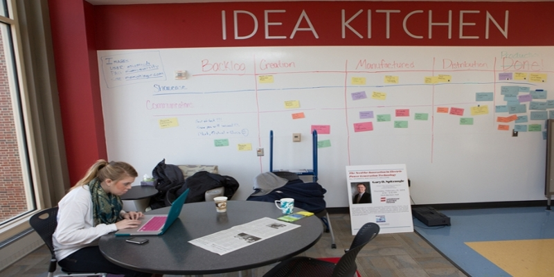 Idea Kitchen in the Lockheed-Martin Leadership Institute