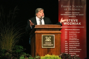 Steve Wozniak speaking