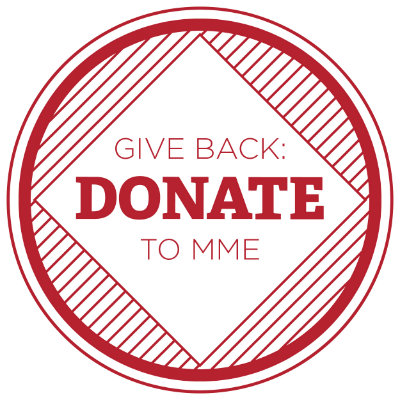 Give Back: Donate to MME