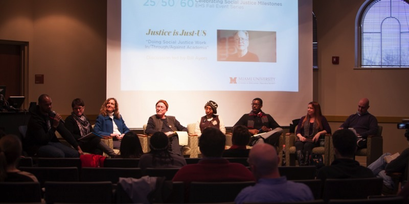 Ayers panel of speakers