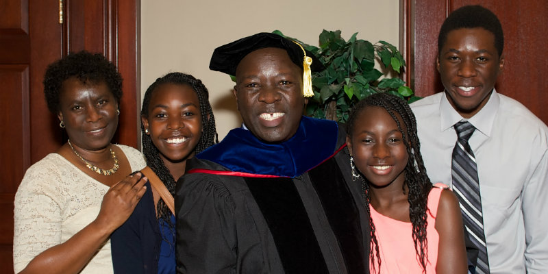 A family with graduate