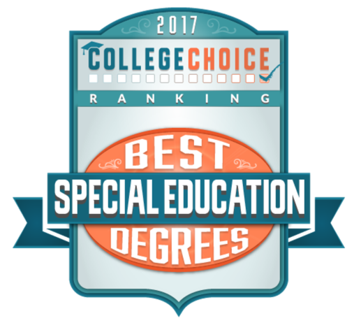 2017 College Choice Rankings, Best Special Education Degrees