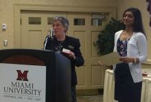 2015 Douglas R. Miller Award presentation