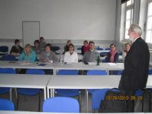 Co-Organizer of Essen Conference, Dr. Hans Fischer