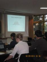 Oct. 2011 Rasch Workshop with Knut Neumann, Essen