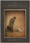 The Arrival by Shaun Tan book cover