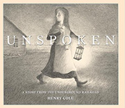 Unspoken by Henry Cole book cover
