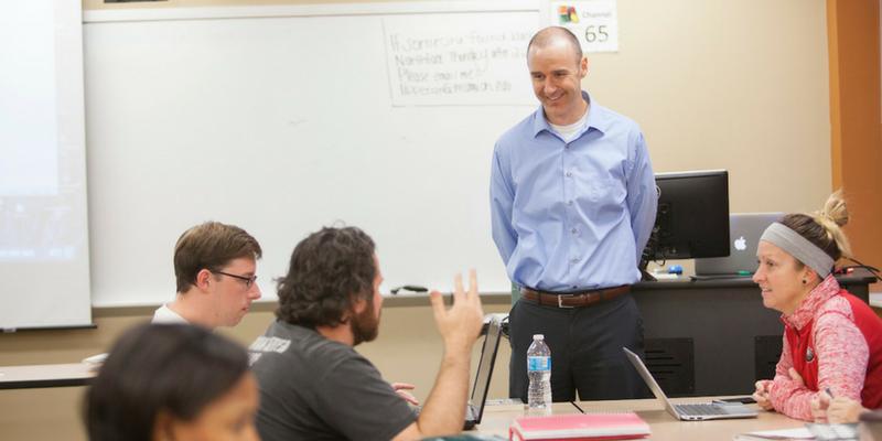 Joel Malin classroom
