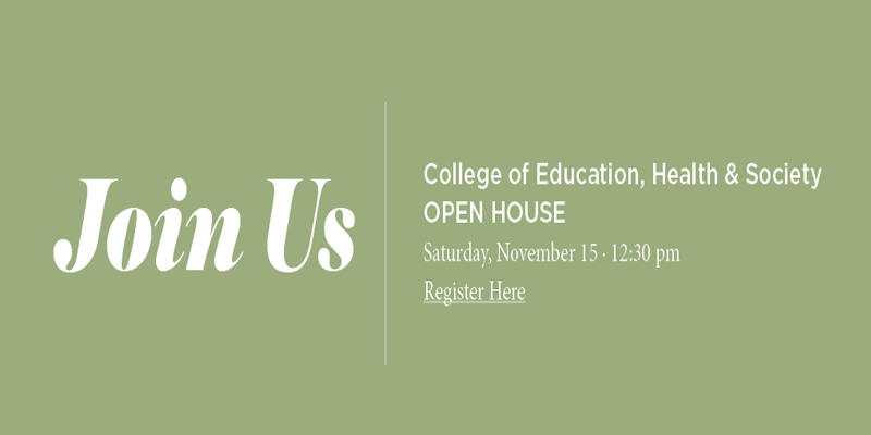 Join Us: EHS Open House Saturday Nov 15 12:30pm : Click image to go to registration page