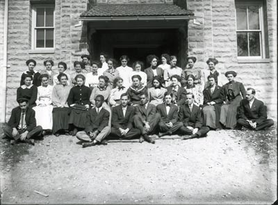 Education students in July of 1919