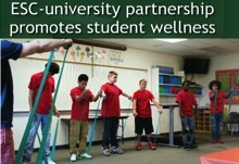 ESC-University Partnership Promotes Student Wellness