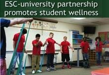 ESC-University Partnership Promotes Student Wellness