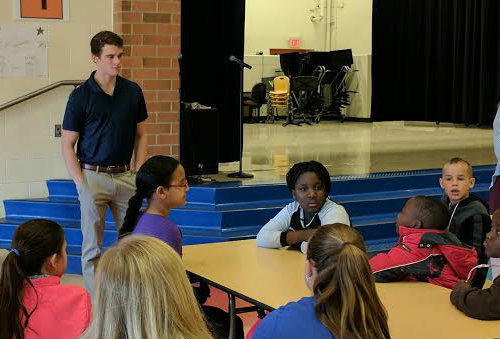 Miami students visit local schools