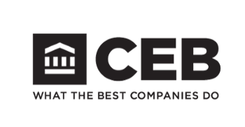 CEB logo, what the best companies do