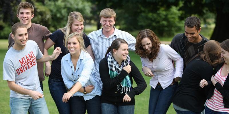 students happy