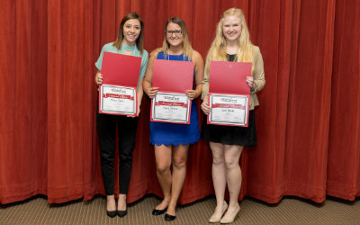 2017 2nd Place Team: Melissa Dureiko, Monica Matticoli, Sarah Hercules
