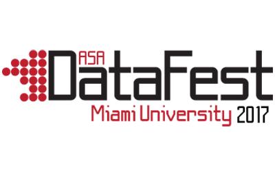 ASA DataFest Miami University 2017 logo