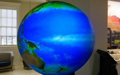 Image of a digital globe