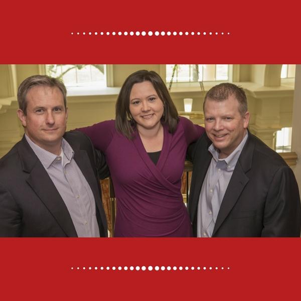 Dan Heitger, Megan Gerhardt and Brian Ballou, co-directors of the Center for Business Leadership