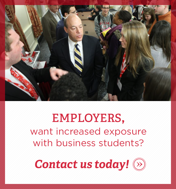 Want increased exposure to Farmer School of Business Students? Contact us today.