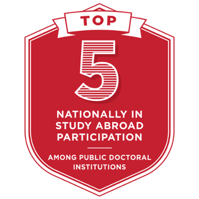 Top 5 in study abroad participation among doctoral programs