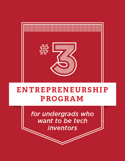 #3 Entrepreneurship program for students who want to be tech innovators