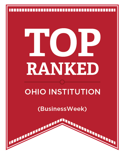 Top ranked Ohio Institution (BusinessWeek)
