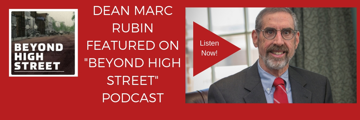 Dr. Marc Rubin interviewed on Beyond High Street podcast