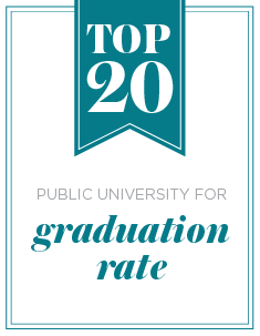 Top 20 public university for graduation rate