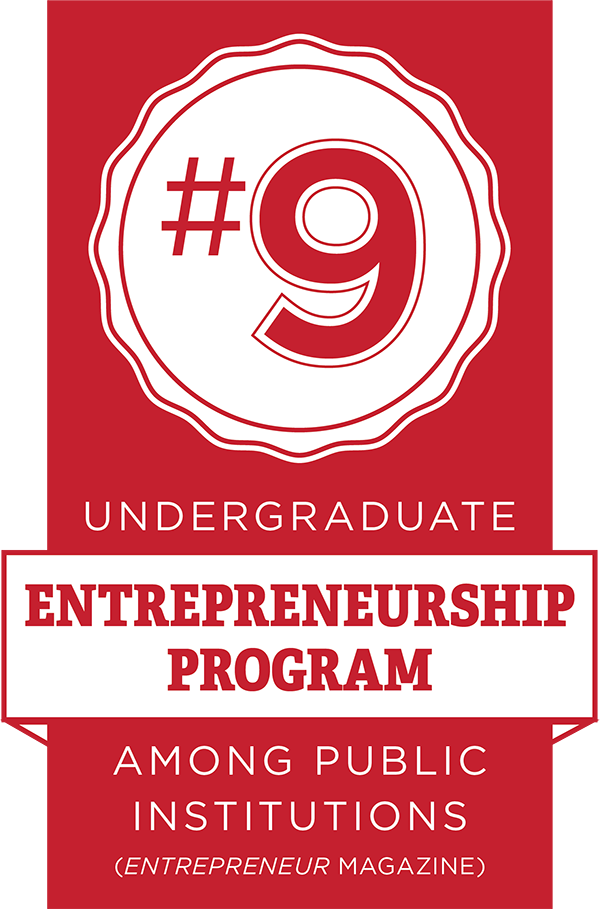 #9 Entrepreneurship Program among Public Institutions. (Entrepreneur Magazine)