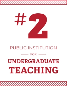 #2 Public Institution for undergraduate teaching