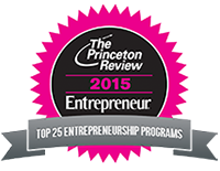 The Princeton Review 2015-Top 25 Entrepreneurship Programs