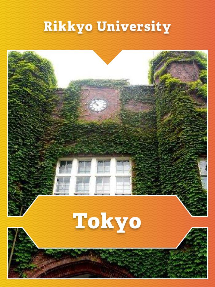 Rikkyo University in Tokyo, Japan