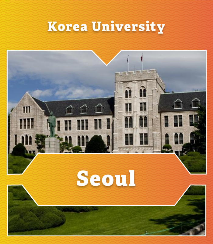 Korea University in Seoul