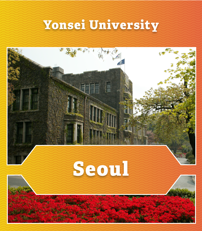 Yonsei University at Seoul Campus in Korea