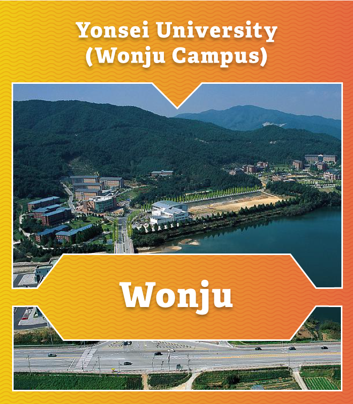 Yonsei University at Wonju Campus in South Korea