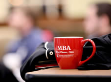 students studying mba class in west chester