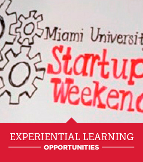 Miami University Startup Weekend Experiential Learning opportunities