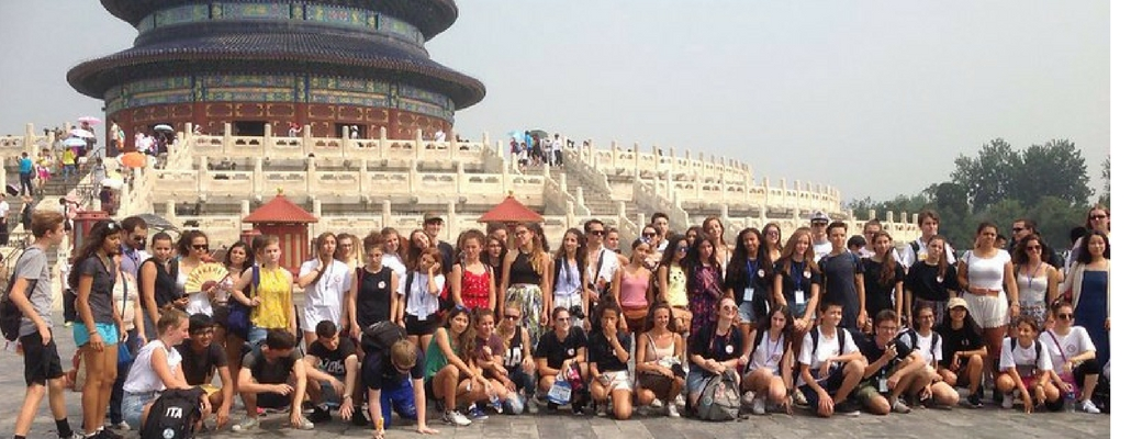 students in China on the Bridges Summer Program