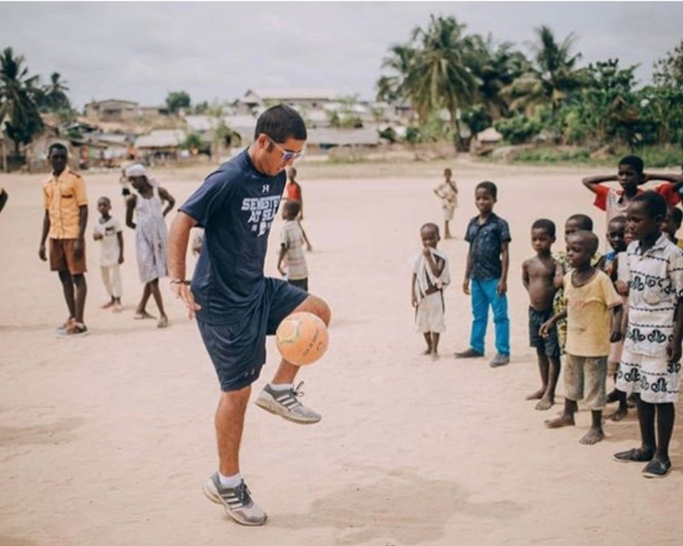 Soccer in Western Ghana by Paul Johnson