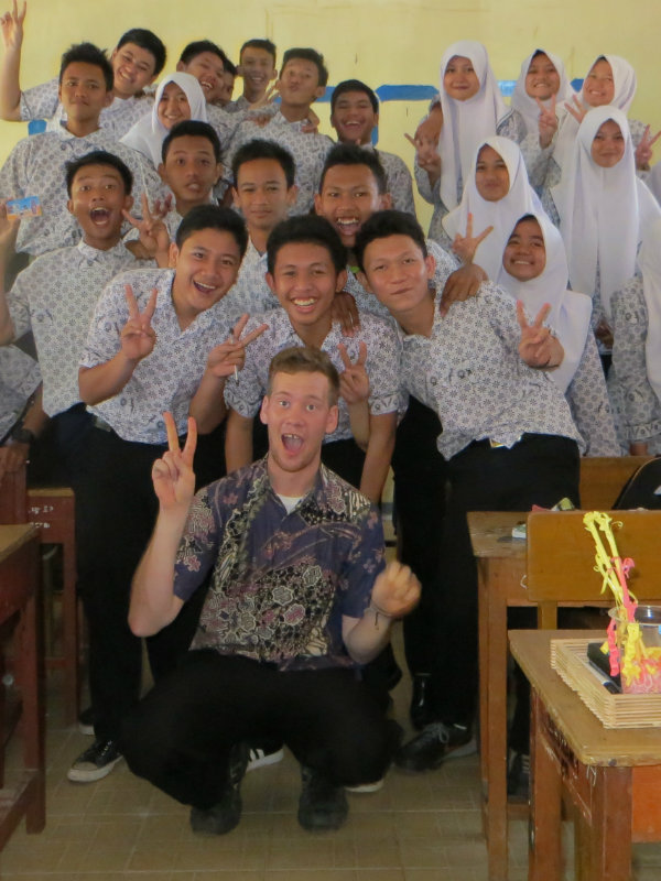 Ryan Martini in Indonesia