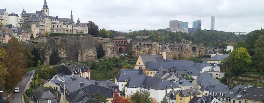 Luxembourg Ariel View