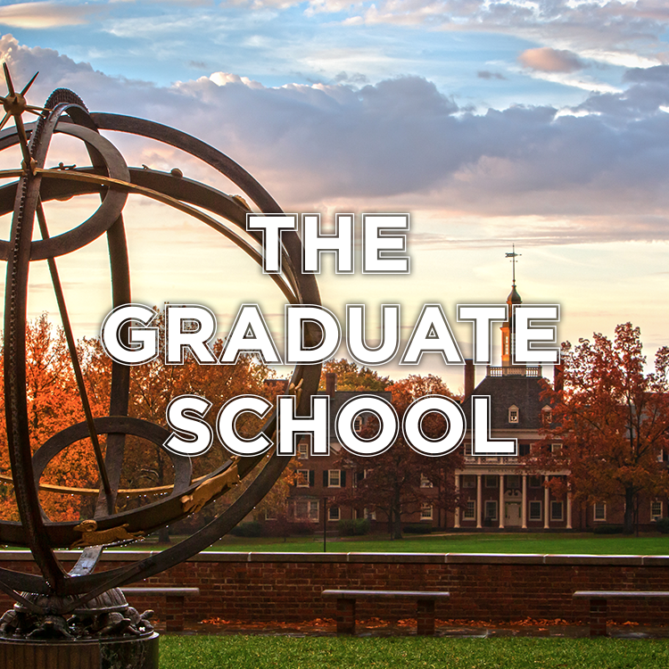 The Graduate School. Pictured: View of MacCracken hall with sundial in the forefront