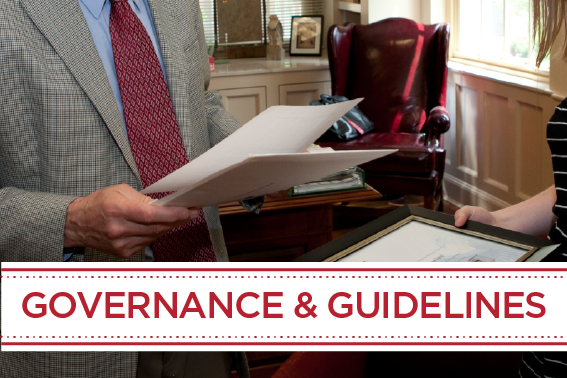 Governance and Guidelines
