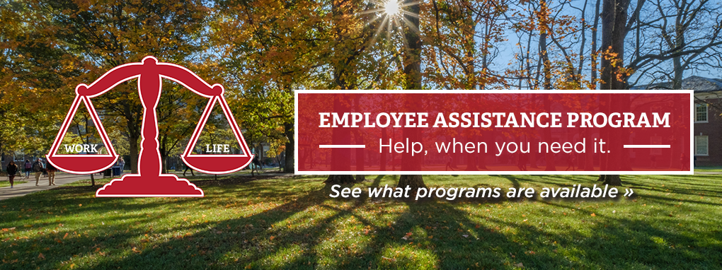 red scale balancing work and life Employee Assistance Programs, help when you need it. See what programs are available.