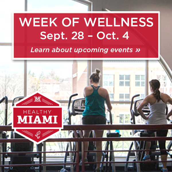 Week of Wellness September 28- October 4