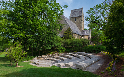 Kumler Chapel and amphitheater