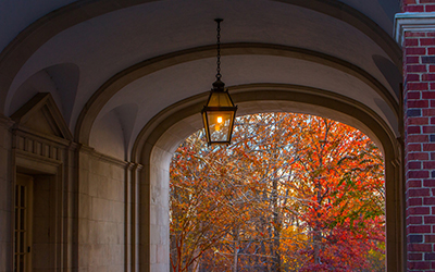 Upham Arch in the Fall