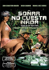 Cover art for the Colombian film Sonar no cuesta nada